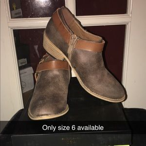 Very Volatile brown bootie